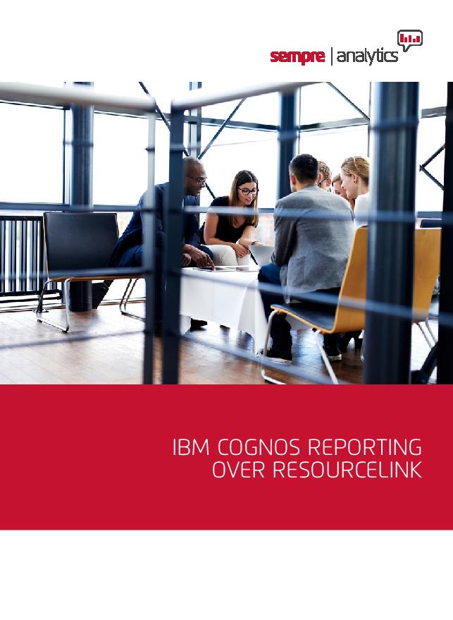 ibm cognos reporting